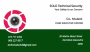 SOLO Technical Security
