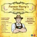 Farmer Harrys Earthworms - Garden , Fishing and Pet Treats
