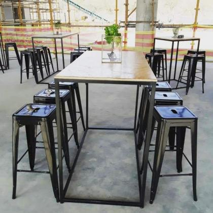 Cocktail Chairs and Tables, Beer Benches and Stretch Tents