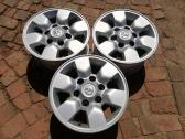 3 x Toyota Hilux Rims for Sale