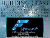 Building glass, mirrors, showers and more.