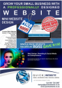 Grow your small business with a professionally designed website at an affordable price