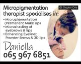 Permanent Make-up (SC Qualified Therapist)