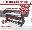 Titan-jet 1.6m eco-solvent printer