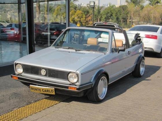 1984 VOLKSWAGEN GOLF 1.8L