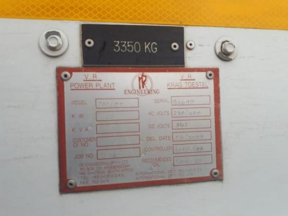 60KVA DIESEL GENERATOR TRUCK MOUNTED