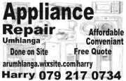 Appliance Repair Umhlanga