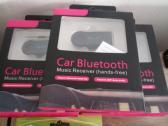 CAR WIRELESS BLUETOOTH AUX AUDIO RECEIVER - HANDS FREE