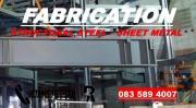 FABRICATION- STRUCTURAL STEEL, SHEETMETAL