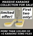 MASSIVE KARAOKE COLLECTION FOR SALE