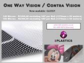 PRINTABLE ONE WAY VISION / CONTRA VISION