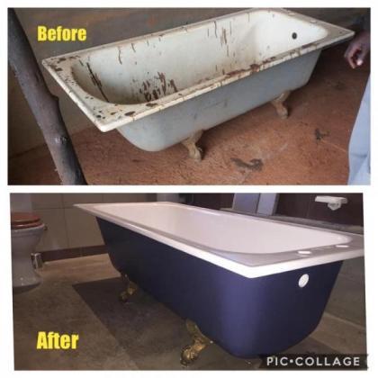 REPAIRS & RESURFACING OF BASINS, BATHTUBS, SHOWERS, TOILETS & WALL TILES in Nelspruit, Mpumalanga
