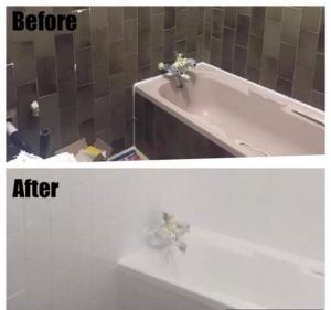REPAIRS & RESURFACING OF BASINS, BATHTUBS, SHOWERS, TOILETS & WALL TILES