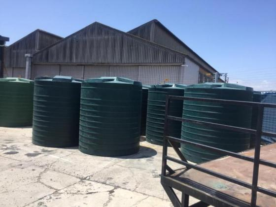 5000 L WATER TANKS FREE DELIVERY
