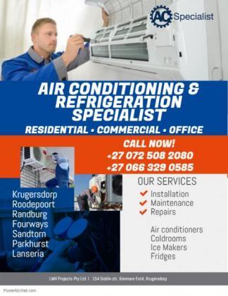 Air conditioning service's, Fridge repairs