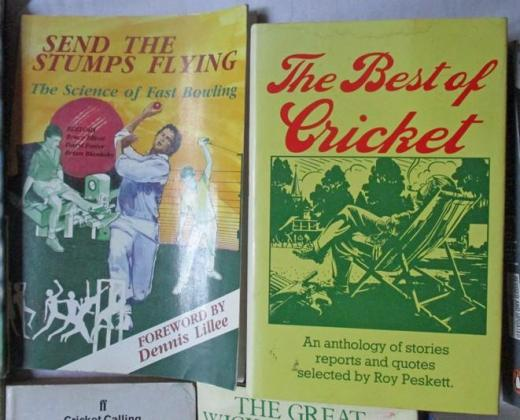 Cricket Books  Choose 2 or more