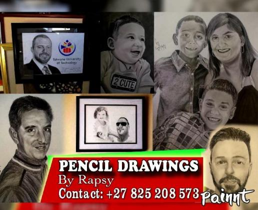 PENCIL DRAWING and PAINTING ARTIST in Sandton, Gauteng