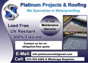 Waterproofing with a 10 Year Maintenance Warranty