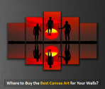 Where to Buy the Best Canvas Art for Your Walls?