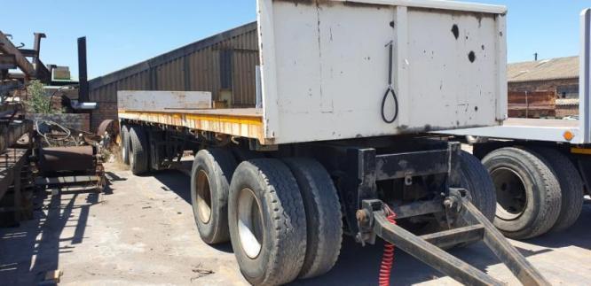 4 Axle drawbar trailer
