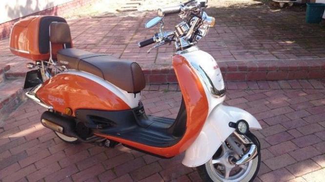 4 big boy scooter 150cc and 125cc
