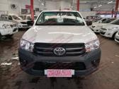 2018 TOYOTA HILUX SC 2.4 GD 5MT A/C Z26 S/CAB WITH 25165 AT R269 995.00