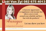 Annique Independant Consultant Lizel Van Zyl