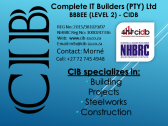 Time to Renovate, Add-on or Build.? Give US a CALL.!! CIB