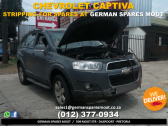Chevrolet Captiva  - STRIPPING FOR SPARES!