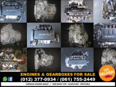 Engines & Gearboxes FOR SALE!