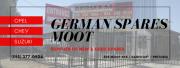 German Spares Moot - Supplier of OPEL, CHEVROLET & SUZUKI parts!