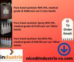 85% IPA Pure Hand Sanitizer