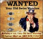I Buy Old Vintage Watches