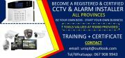 Become a registered and Certified CCTV Installer