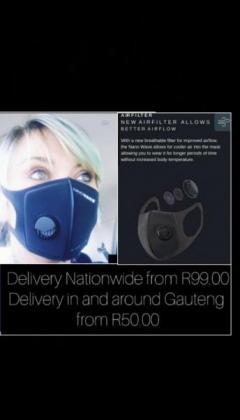 New Air filter Masks allows better Airflow