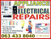 Essential Services: Appliance and Electrical Repairs