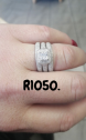 Solid 925 Sterling Silver Rings