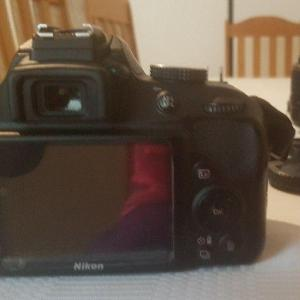 24.2 MP Nikon D3300 body with Nikon 18-55 AF-P Lens