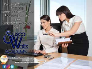 Personal Assistant/ General Administration Course
