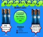 Restaurant quality Bottled Water For Sale