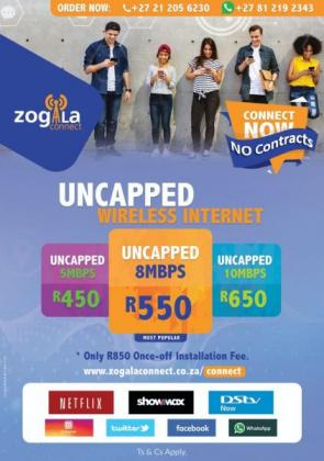 Zogala Connect Internet for your home