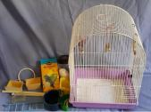 Bird Cage and accessories - R120