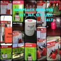 Knapsack sprayers available. All size bottles available on sale