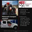 Motorcycle Transport Gauteng - KES Transport SA 0766 746 357