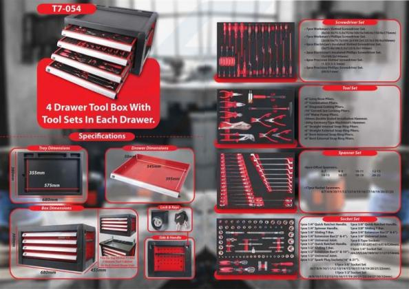 Toolboxes with Lockable drawers