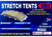 SUNBOW TENTS MANUFACTURE - TENTS FOR SALE / TOILETS FOR SALE / MOBILE COLDROOMS FOR SALE/ STRETCH TE