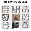 Paving moulds for DIY patios, pathways, driveways or wall decor