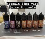 Vape Juice Flavours - Nicotine Salt