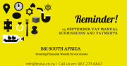 VAT manual submissions and payments