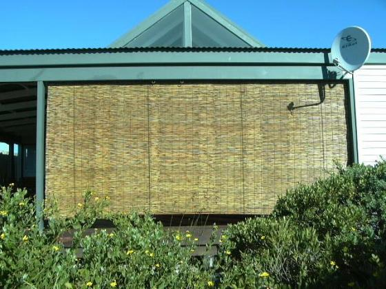 WOVEN  REED  BLINDS AND AWNINGS